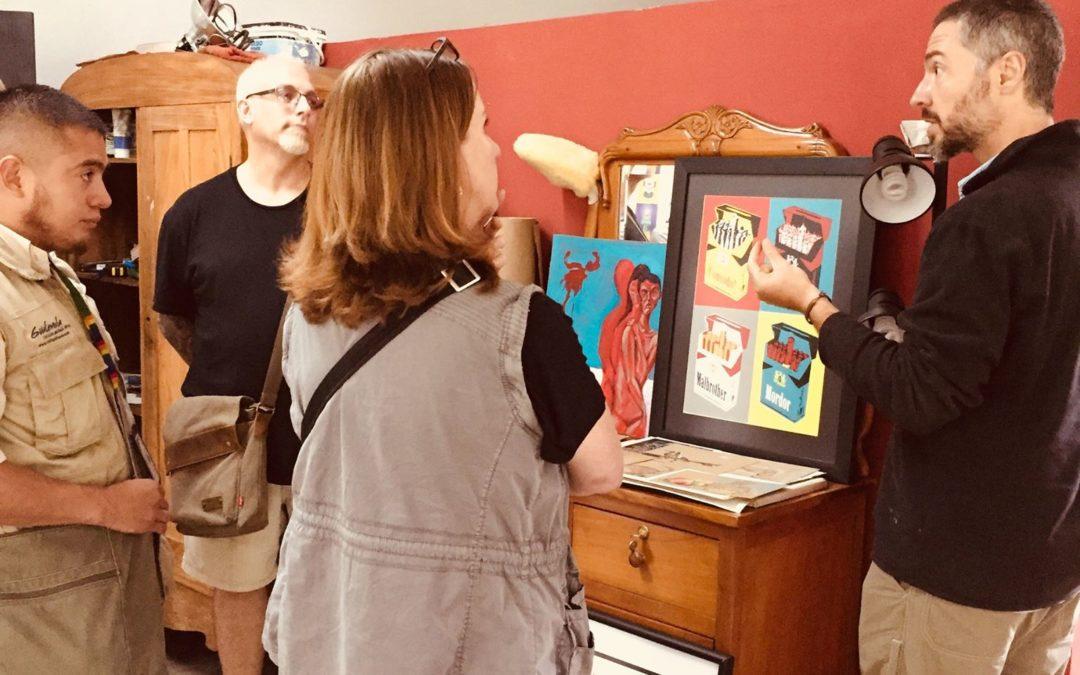 Another successful art tour in Antigua Guatemala
