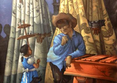 "Mi Bella Guatemala by Alfredo Garcia Gil, Guatemalan fine artist, 41.25""x29.5"". Price US$3,500"