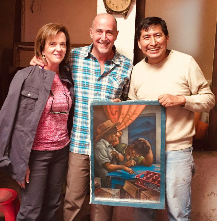Art Tour November 14, 2017 at the studio of Alfredo Garcia Gil