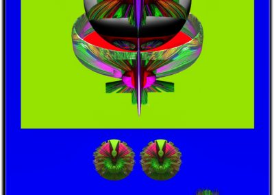 "The Third Eye 10 - Mario Permuth - Guatemalan renowned photographer and artist - Digital Art - 8"" x. 10"" - US$.250."
