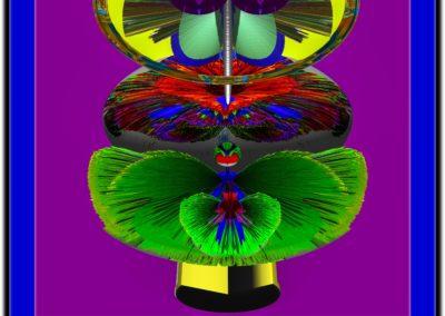 "The Third Eye 12 - Mario Permuth - Guatemalan renowned photographer and artist - Digital Art - 8"" x. 10"" - US$.250."