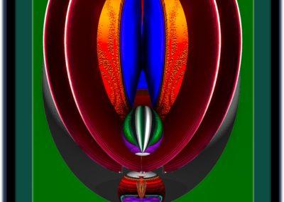 "The Third Eye 2 - Mario Permuth - Guatemalan renowned photographer and artist - Digital Art - 8"" x. 10"" - US$.250."