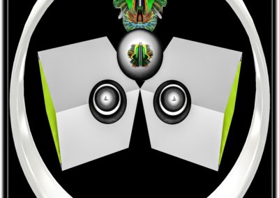 """The Third Eye 26 - Mario Permuth - Digital Art - 8"""" x. 10"""" - US$.250."""