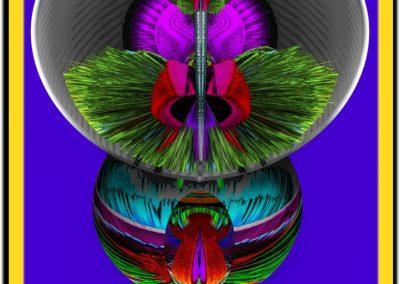 "The Third Eye 7 - Mario Permuth - Guatemalan renowned photographer and artist - Digital Art - 8"" x. 10"" - US$.250."