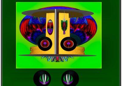"The Third Eye 8 - Mario Permuth - Guatemalan renowned photographer and artist - Digital Art - 8"" x. 10"" - US$.250."