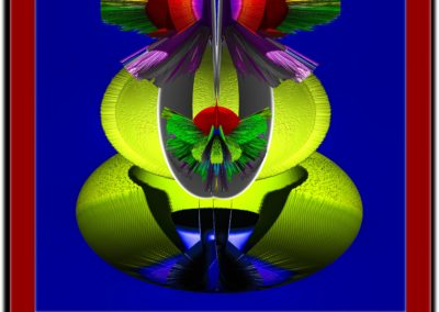 "The Third Eye 9 - Mario Permuth - Guatemalan renowned photographer and artist - Digital Art - 8"" x. 10"" - US$.250."