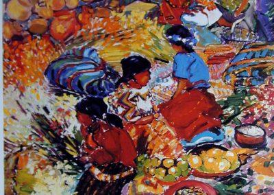 """Cornucopia de color - Brian M. Johnston - North American Impressionist Artist - 21.5"""" x 28"""" limited edition print - US$35."""
