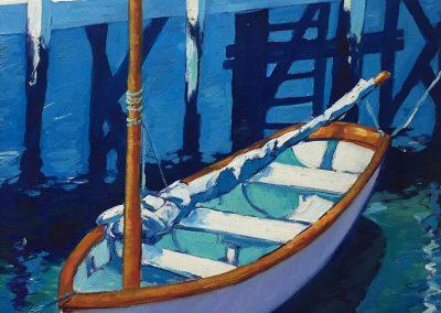 "Caribbean day dream by Brian M. Johnston - North American Impressionist Artist- 20"" x 24"" oil on canvas - US$1800."