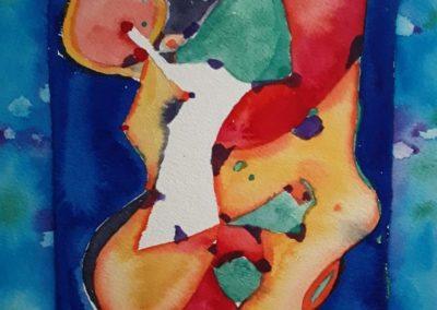 "Diario Visual 3 - Gustavo Garcia - Watercolor artist - Guatemala - Watercolor - 11.5"" x 16"" - US$800"